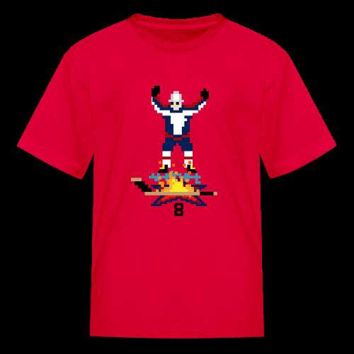 8-Bit Hot Stick Kid's T-Shirt - Kids' T-Shirt