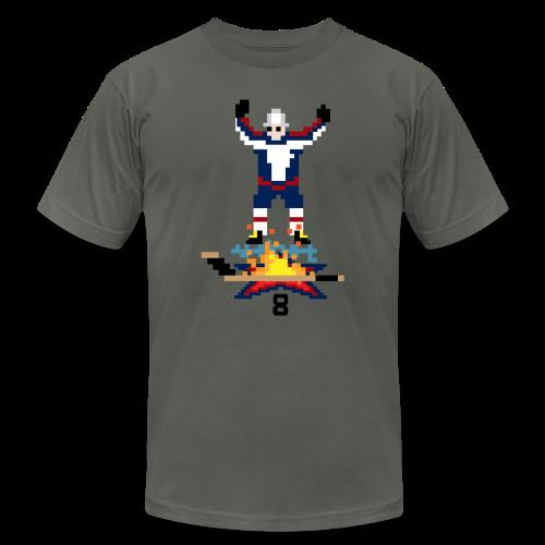 8-Bit Hot Stick Grey Men's T-Shirt - Men's  Jersey T-Shirt
