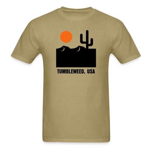 Tumbleweed USA - Men's T-Shirt
