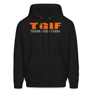TGIF THANK GOD I FARM - Men's Hoodie
