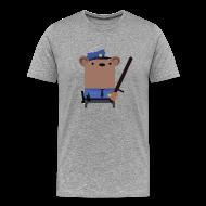 T-Shirts ~ Men's Premium T-Shirt ~ Mr.Security Bear
