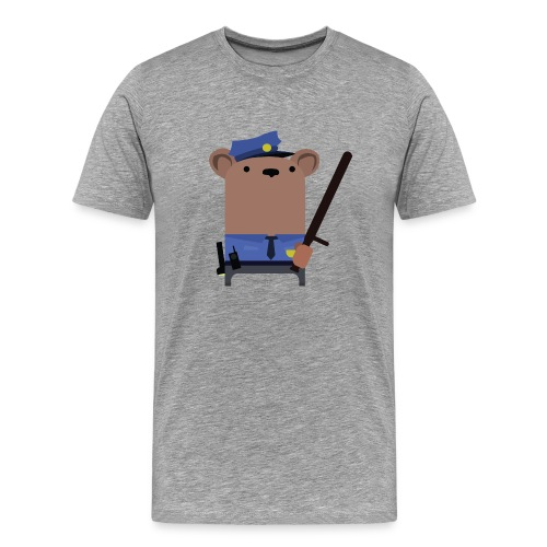 Mr.Security Bear - Men's Premium T-Shirt