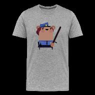T-Shirts ~ Men's Premium T-Shirt ~ Mrs.Security Bear