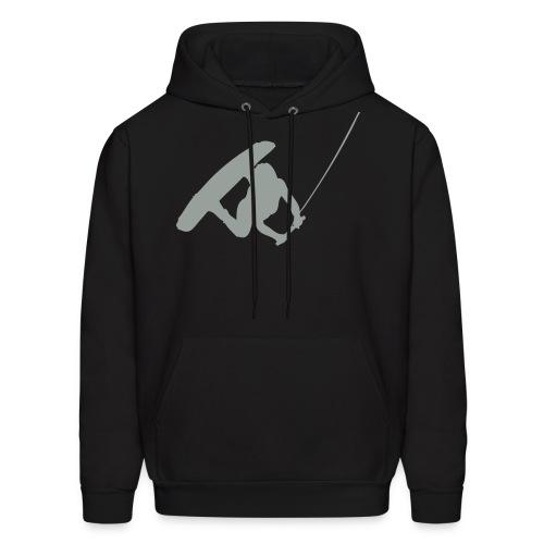 Wake boarding Silouette Sweatshirt - Men's Hoodie