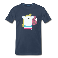 T-Shirts ~ Men's Premium T-Shirt ~ Marvin with the Mullet