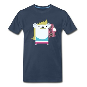 Marvin with the Mullet - Men's Premium T-Shirt