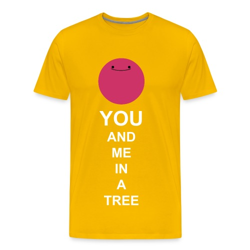You And Me In A Tree - Men's Premium T-Shirt