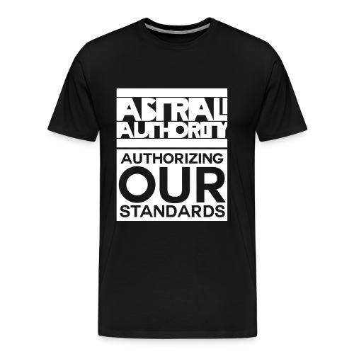 AstralAuthority Stacked  T-Shirt Men's - Men's Premium T-Shirt