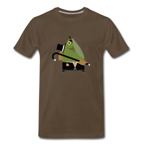 Fishy Frank - Men's Premium T-Shirt