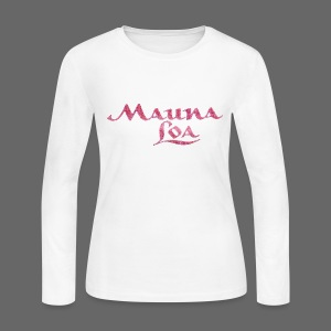 Mauna Loa - Women's Long Sleeve Jersey T-Shirt