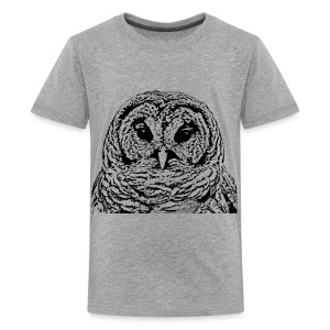 Mr Barred Owl Dec 2013 - Kids' Premium T-Shirt