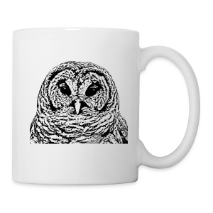 Mr Barred Owl Dec 2013 - Coffee/Tea Mug