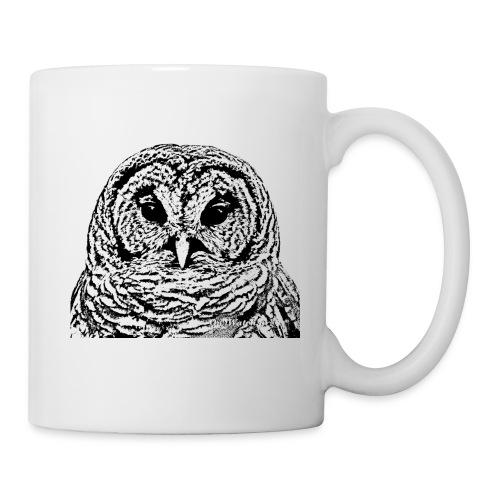 Mr Barred Owl Dec 2013 - Coffee/Tea Mug