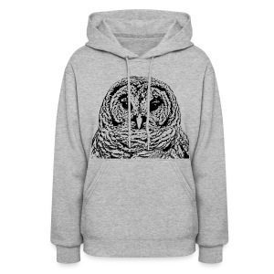 Mr Barred Owl Dec 2013 - Women's Hoodie
