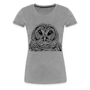 Mr Barred Owl Dec 2013 - Women's Premium T-Shirt
