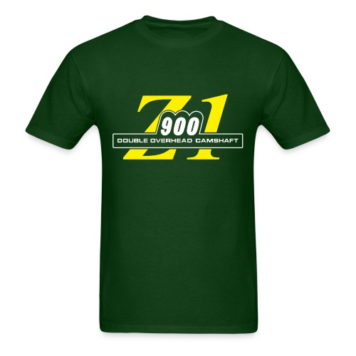 Z1 900 shirt Green & Yellow - Men's T-Shirt