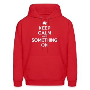 Something On (Men's Hoodie) - Men's Hoodie