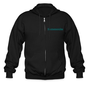 Men's Zip Hoodie - swag,stylish,cool,clean,Samesonite