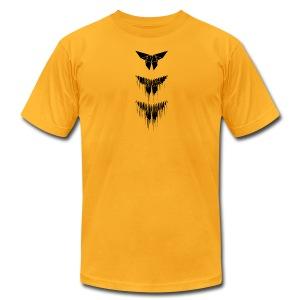 Yoshizawa Butterfly Glitch - Men's Fine Jersey T-Shirt