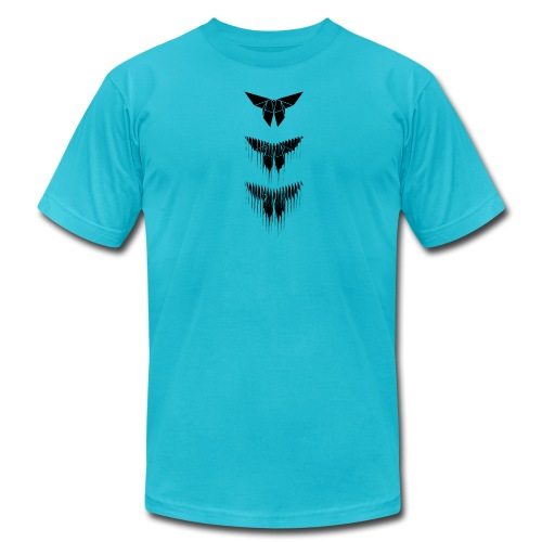 Yoshizawa Butterfly Glitch - Men's Fine Jersey T-Shirt