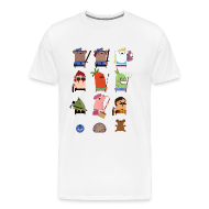 T-Shirts ~ Men's Premium T-Shirt ~ One Big Happy Family