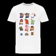 T-Shirts ~ Men's Premium T-Shirt ~ One Big Happy Family