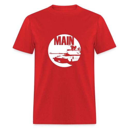 BOSSLEVEL - KYR Main Tank (official red only) - Men's T-Shirt