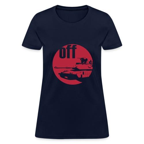 BOSSLEVEL - KYR Off Tank (WOMEN) - Women's T-Shirt