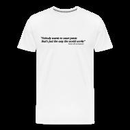 T-Shirts ~ Men's Premium T-Shirt ~ Coco - quote pants
