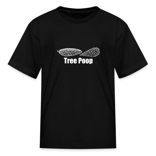 Tree Poop Kids' T-shirt - Kids' T-Shirt