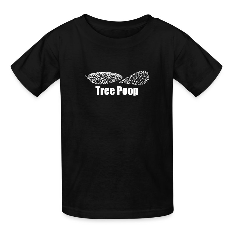 Tree Poop Kids' T-shirt - Kids' T-Shirt