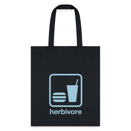 Herbivore Tote Bag (Light Blue Ink) - Tote Bag