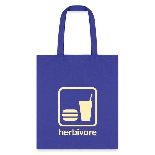 Herbivore Tote Bag (Beige Ink) - Tote Bag