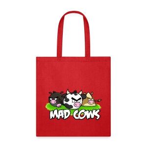 Mad Cows Tote Bag - Tote Bag