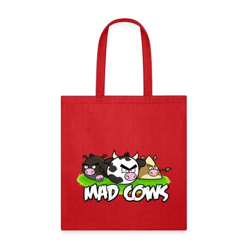 Mad Cows Tote Bag - Tote Bag
