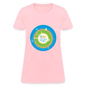 Women's Festival  T-shirt (front design only) - Women's T-Shirt