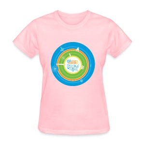 Women's Festival  T-shirt (front design only) - Women's T-Shirt