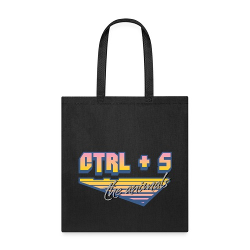 CTRL+S The Animals Tote Bag - Tote Bag