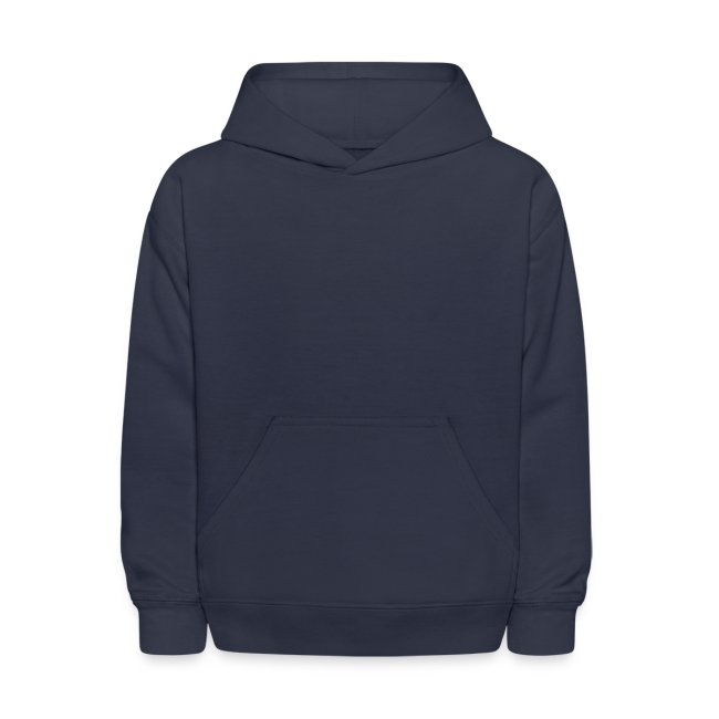 Kid's Navy Fire Dan Hooded Sweatshirt