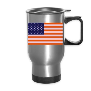 American Flag Travel Mug - Travel Mug