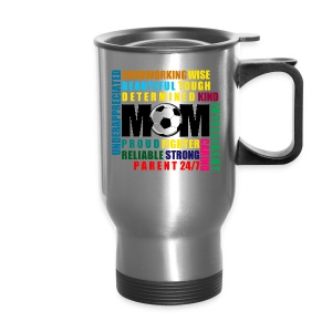 I Love My Mom Travel Mug - Travel Mug