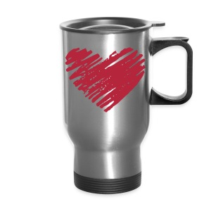 Heart Travel Mug - Travel Mug