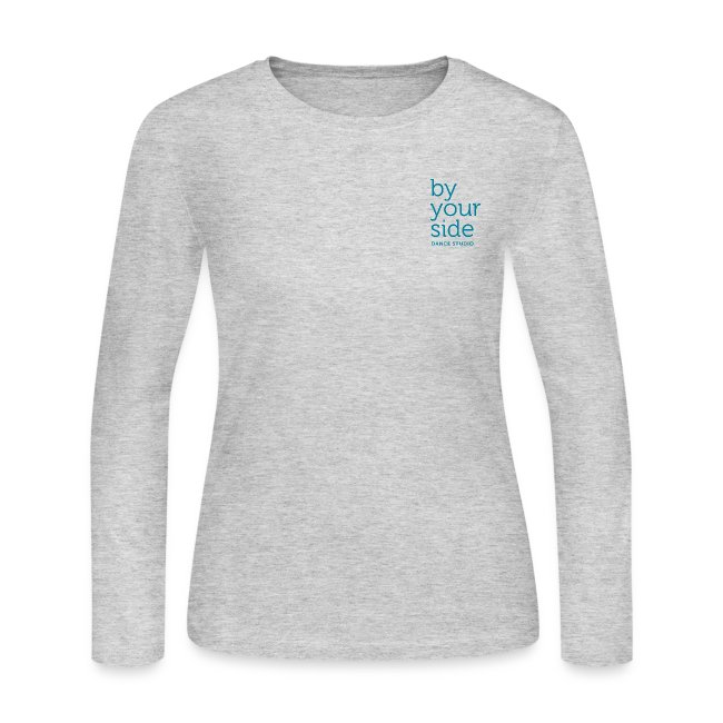 Women's Long Sleeve Jersey T-Shirt - By Your Side Logo