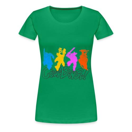 COWABUNGA - Women's Premium T-Shirt