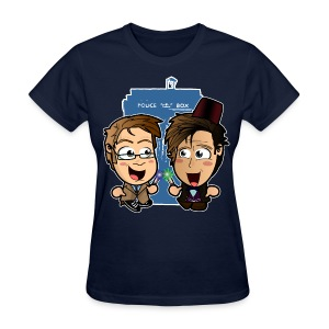 Doctor Who - 50th Anniversary Shirt (Female) - Women's T-Shirt