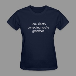 Silent Correction - Women's T-Shirt