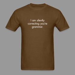 Silent Correction - Men's T-Shirt