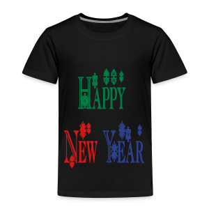 Happy New Year 2014 - Toddler Premium T-Shirt
