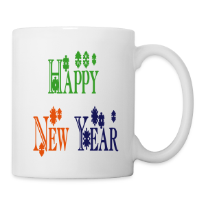 Happy New Year 2014 - Coffee/Tea Mug