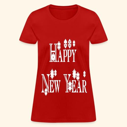 Happy New Year 2014 - Women's T-Shirt